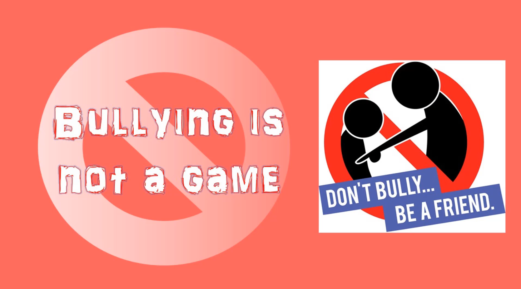 m Bullying is not a game